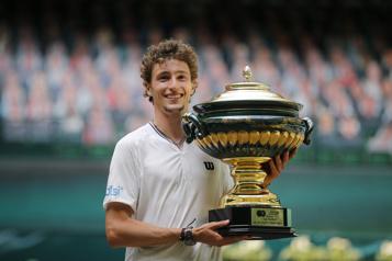 Ugo Humbert gagne le tournoi de Halle )