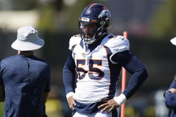 Broncos de Denver Le secondeur Bradley Chubb a besoin d'une autre opération)