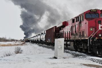 Le déraillementen Saskatchewan pas lié à un défaut mécanique
