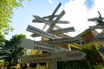 Route des fromages: à faire fondre l'amateur de fromages)