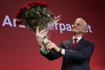 Lendemain d'élections en Norvège Début des négociations en vue d'un nouveau gouvernement)