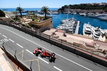 Essais libres du Grand Prix de Monaco Charles Leclerc fait plaisir à ses partisans )
