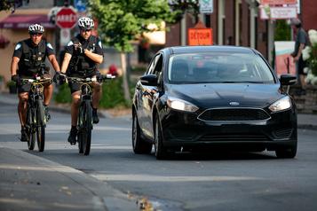 Le SPVM calculera la distance entre autos et vélos dès jeudi