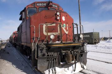 Livraisons records de céréales pour le CN en mars