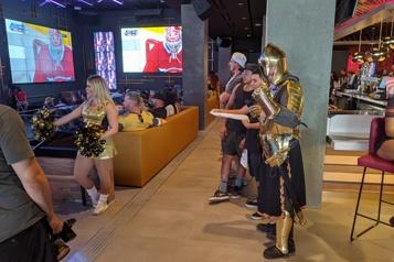 Rencontre avec LE Golden Knight)