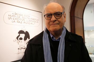 Décès du dessinateur Quino, créateur de Mafalda)