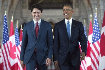 Obama souligne son admiration pour Trudeau