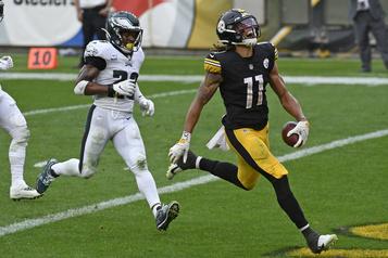 Billet Chase Claypool : une étoile est née chez les Steelers)