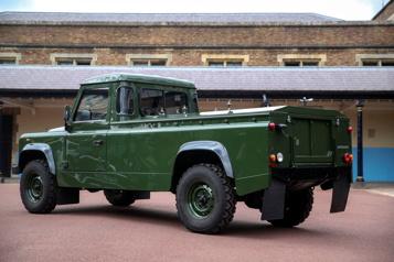 Masques, distances et Land Rover pour les obsèques du prince Philip)
