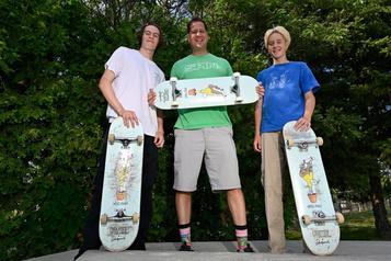 Des skaters qui ont la bosse des affaires