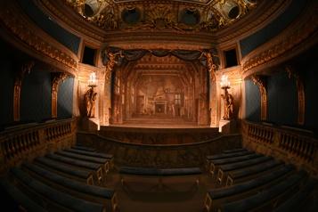 Versailles Le théâtre de Marie-Antoinette remis à neuf)