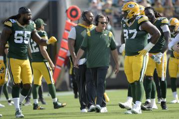 Packers de GreenBay Joe Barry fait confiance à son unité défensive)