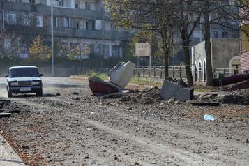 Karabakh Les forces azerbaïdjanaises s'approchent d'une ville stratégique séparatiste)