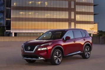 Le Nissan Rogue s'offre une refonte complète)