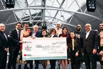 545000$ pour la Fondation Jean-Lapointe