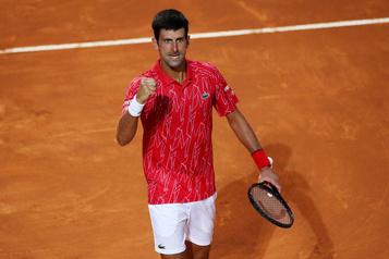 Tournoi de Rome Novak Djokovic triomphe pour la cinquième fois)