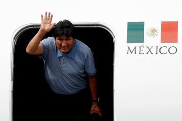 Le périple rocambolesque d'Evo Morales pour rallier Mexico