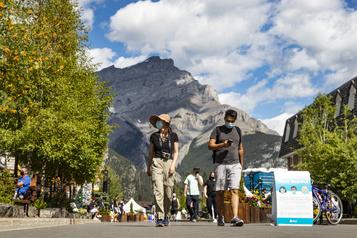 Ruée vers l'Ouest au parc national de Banff)