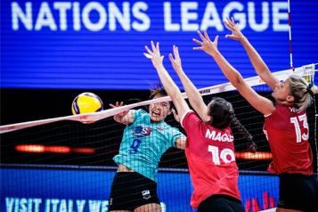 Volleyball Les Canadiennes surprises par les Thaïlandaises)