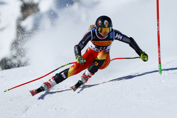 Slalom géant de Jasna Une journée à oublier pour Valérie Grenier)
