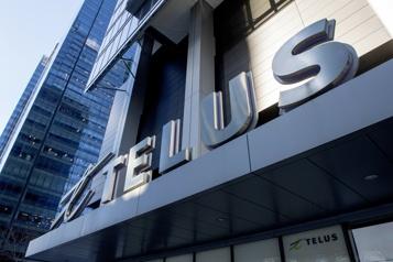Premier trimestre Telus déclare un profit en baisse)