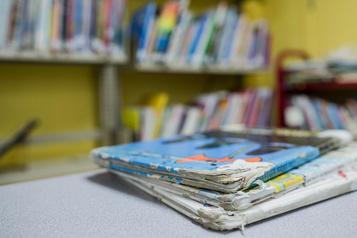 La (trop timide) place des livres en classe et à l'école