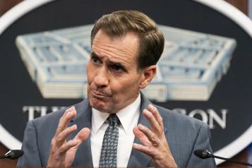 Washington a récemment fourni un soutien aérien à l'armée afghane)
