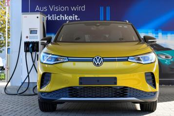 Volkswagen Volks met le pied au fond vers la voiture électrique et autonome pour 2030)