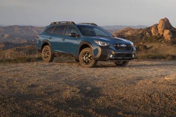 Subaru Wilderness: la Subaru Outback enfile les bottes derandonnée)
