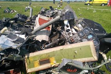 Russie Quatre morts dans l'écrasement d'un avion transportant des parachutistes )