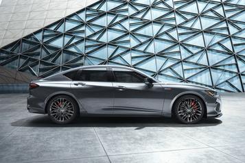 L'Acura TLX Type S pourra concurrencer les rivales allemandes sur la puissance )
