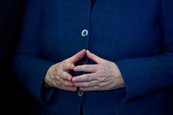Le «losange» de Merkel, une posture devenue iconique)