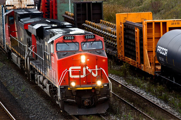 Le CN ralentit