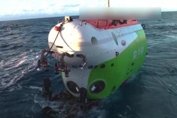 Un submersible chinois au fond de la fosse océanique la plus profonde sur Terre)