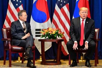 Trump et Moon Jae-in veulent maintenir le dialogue avec Pyongyang