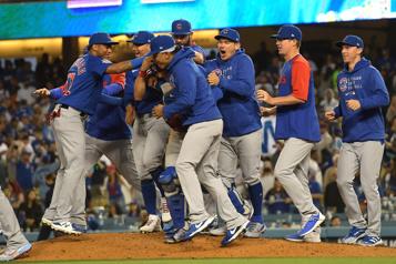 Les Cubs réussissent un match sans point ni coup sûr face aux Dodgers)