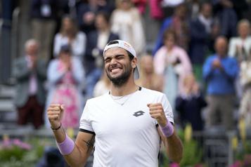Matteo Berrettini remporte le tournoi du Queen's)