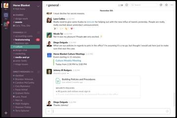 Salesforce envisage de racheter Slack)