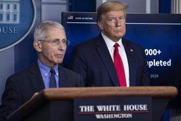 Trump critique le DrFauci «et tous ces idiots»)