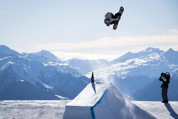 Sébastien Toutant triomphe en slopestyle à Laax