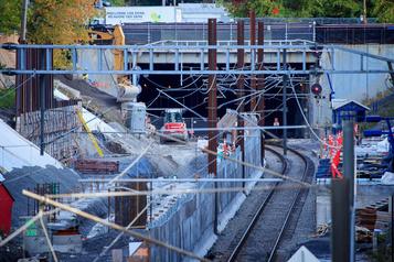 REM: la Caisse reconnaît qu'il faudra construire un mur dans le tunnel du mont Royal