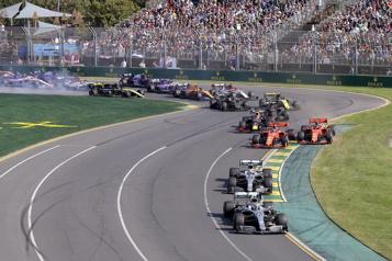 Le début de la saison de F1 reporté)