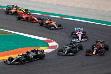 La F1 officialise le Grand Prix du Portugal le 2 mai)