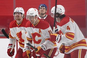 2e période Flames2 – Canadien0)