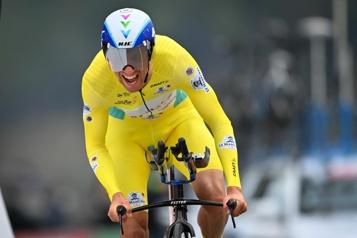 Tour de France Michael Woods chef de file de l'équipe Israël Start-Up Nation)