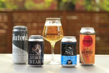 Quatre bières sans alcool sous la loupe)