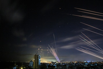 Israël Près de 3000roquettes tirées de Gaza depuis lundi)