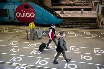 La Gare Montparnasse se réorganise face au coronavirus)