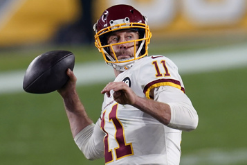 NFL Alex Smith sera libéré par l'équipe de Washington)