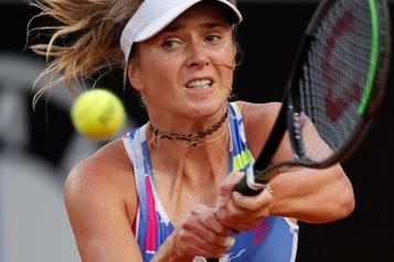 Elina Svitolina gagne en demi-finale à Strasbourg)